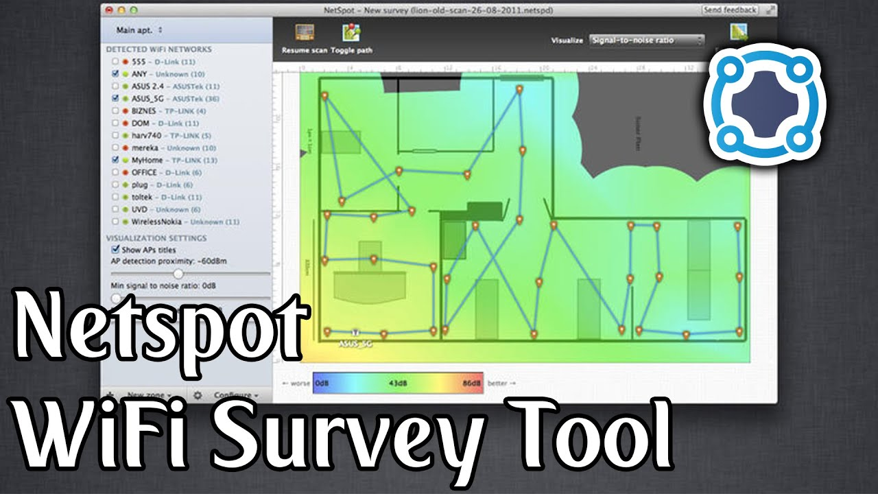 Review - Netspot Wifi Survey Tool