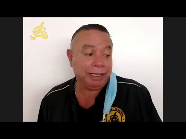 Juego 3: Encuentro virtual post-juego con el dirigente de Águilas Cibaeñas, Félix Fermín