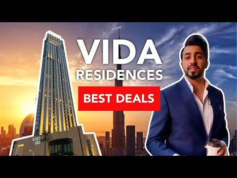 BEST DEALS IN DOWNTOWN DUBAI 2020 Part 3: The Vida Residences | Property Vlog