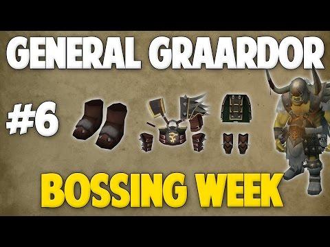 Runescape 2017 | BOSSING WEEK - Day #6 - General Graardor