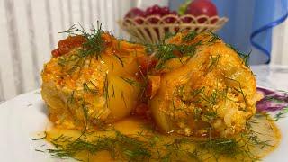 Фаршированный Перец в Мультиварке Очень Вкусно и Сытно