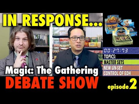 In Response: Masters Sets, New UN-Set, and Commander Control - A Magic The Gathering Debate