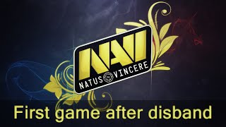First NaVi game after disband