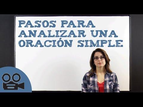 Pasos para analizar una oración simple from YouTube · Duration:  13 minutes 51 seconds