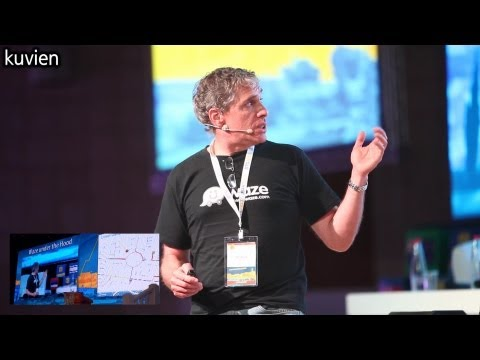 Waze - Under the Hood with Co-Founder Uri Levine at JITS2013 [HD]