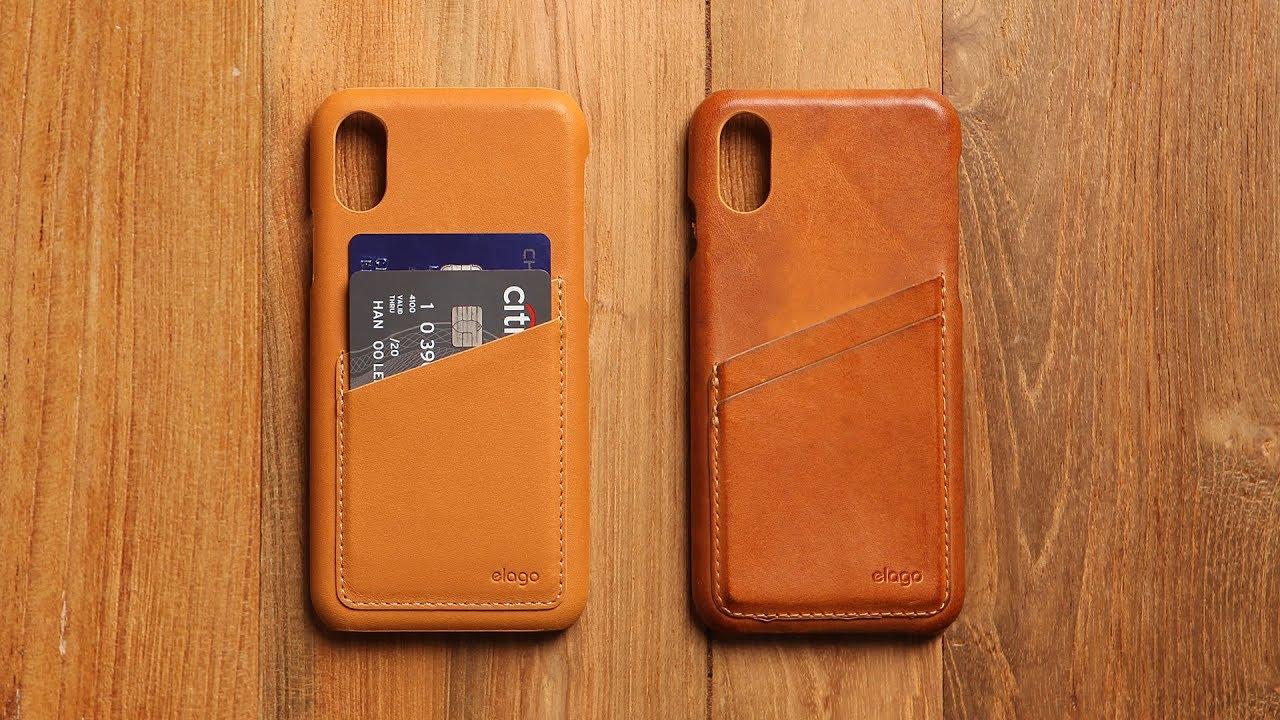 buy online 1b0ac f8603 elago- GENUINE LEATHER CASE for iPhone X