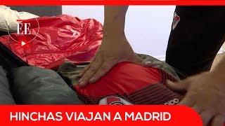 Hinchas de Boca y River viajan a Madrid para la final de la Libertadores | El Espectador