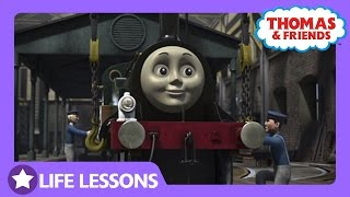 Emily is Impressed with Caitlin | Life Lesson: Helping Others | Thomas & Friends UK