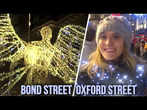 Christmas ABC London Tour Guides -  Oxford Street & Bond Street Xmas Lights ( West End ) W1