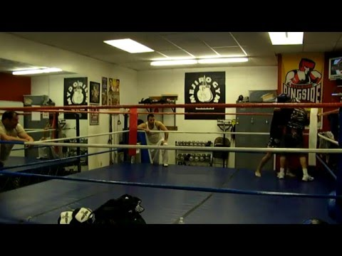 "Frank Silva ex-pro boxer & John""The Shadow""Washington pro kickboxer"