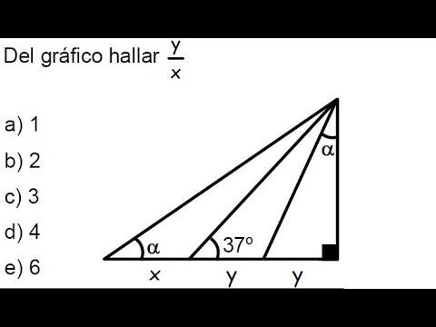 Triángulos notables, ejercicios aplicando triángulos