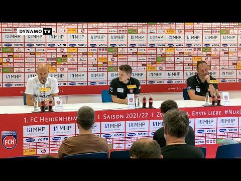 6. Spieltag   FCH - SGD   Pressekonferenz nach dem Spiel