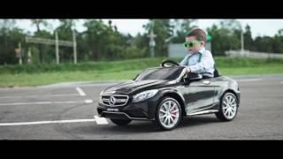 Детский автомобиль Sundays Mercedes Benz license BJ169 видео