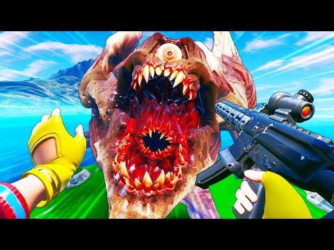 NEW MONSTER IS BACK..!!! | Fortnite Funny and Best Moments Ep.549 (Fortnite Battle Royale)