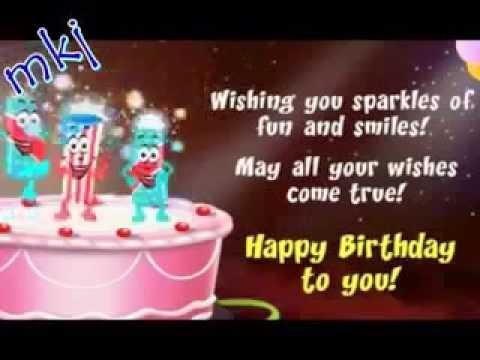 Copy of Happy Birthday Chinese and English with lyrics