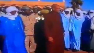 فيديو.. سيف الإسلام يظهر في أوباري جنوب ليبيا!