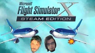 Havadaki Tehlike | Flight Simulator X Türkçe Multiplayer | Bölüm 10
