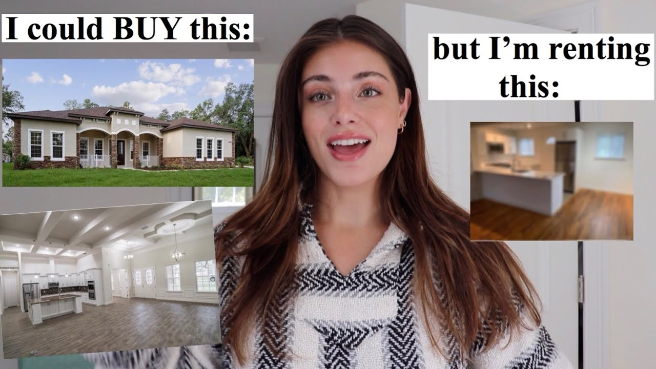 FIRST APARTMENT TOUR! & Why I'm Renting INSTEAD of Buying!