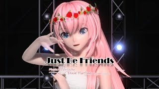 Download [60fps 1080p] Just Be Friends (V4X ver.) - 初音ミク Project DIVA Future Tone English subs Romaji lyrics Mp3