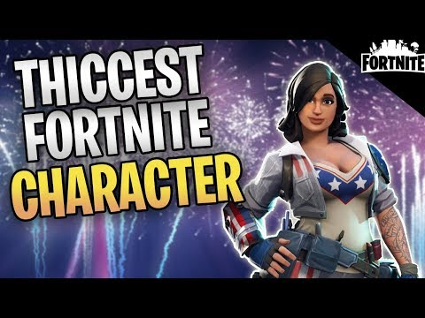 FORTNITE - The THICCEST Character In Fortnite (Stars And Stripes Penny Gameplay)
