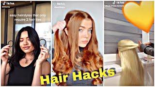 Heroic Hair Hacks   Tik Tok compilations !!  #hairhacks   #tiktok  #8minutesofhairhacks