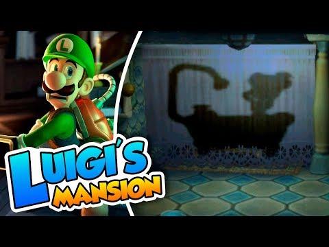 ¡Engaños en la ducha! - #05 - Luigi's Mansion Coop (3DS) Naishys y DSimphony
