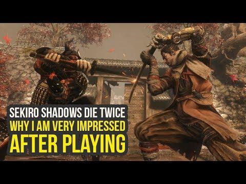 Sekiro Shadows Die Twice Gameplay NEW Abilities, Big Dark Souls Differences & More (Sekiro Gameplay)