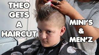 Theo Gets A Hair Cut @ Mini'z & Men'z