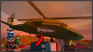 ROBLOX - VAI TER MISSEL NO HELICOPTERO DO JAILBREAK