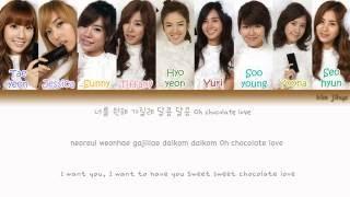 Girls' Generation (SNSD) (소녀시대) - Chocolate Love Lyrics (Han Rom Eng Color Coded) #TBS