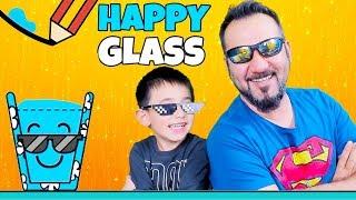 MUTLU VE GÖZLÜKLÜ BARDAK! | HAPPY GLASS OYNUYORUZ (37-50)