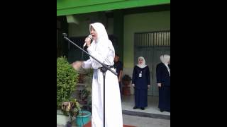 English Speech by Miftah Maulina Syifa