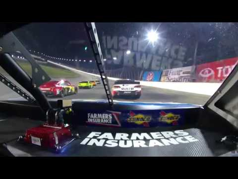 Kasey Kahne, 2013 Geico 400 onboard last half of race from Chicagoland, IL