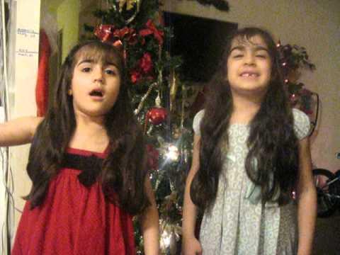 Juliet Amanda and Amy sing the Assyrian (Aramaic) Alphabet part 2