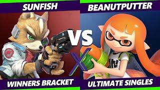 S@X 411 Winners Bracket - Sunfish (Fox) Vs. Beanutputter (Inkling) Smash Ultimate - SSBU
