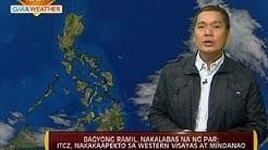 24 Oras: Bagyong Ramil, nakalabas na ng PAR; ITCZ, nakaaapekto sa Western Visayas at Mindanao