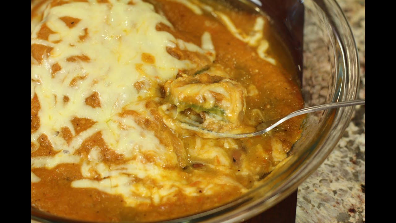 Chile Rellenos With Ranchero Sauce