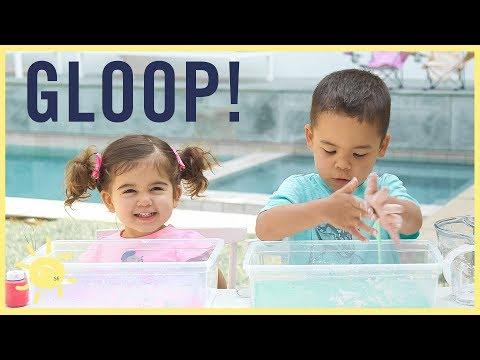 PLAY | GLOOP! (2 Ingredient Sensory Slime)