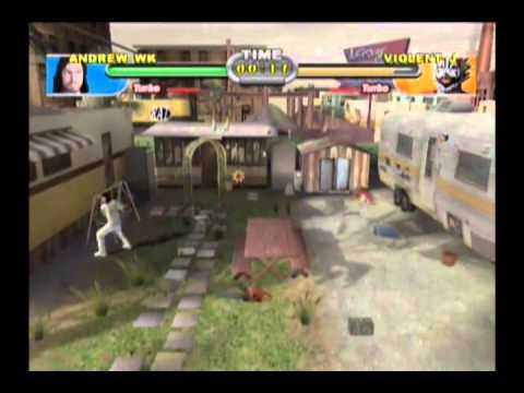 Andrew W.K. - Backyard Wrestling Don't Try This at Home - Gameplay - Andrew W.K. - Backyard Wrestling Don't Try This At Home - Gameplay
