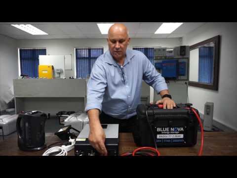 BlueNova Lithium Ion Battery High Power - LiFePO4