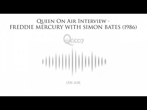 Queen On Air Interview - Freddie Mercury with Simon Bates (1985)
