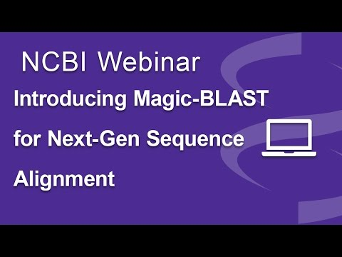Introducing Magic-BLAST, NCBI