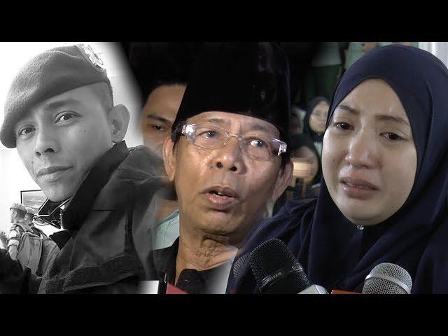 """Daddy pun rindu... sayang mommy"" - Isteri terkenang kata-kata akhir Mejar Mohd Zahir Armaya"