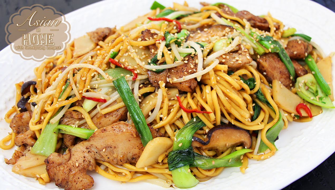 Easy chicken chow mein youtube forumfinder Image collections