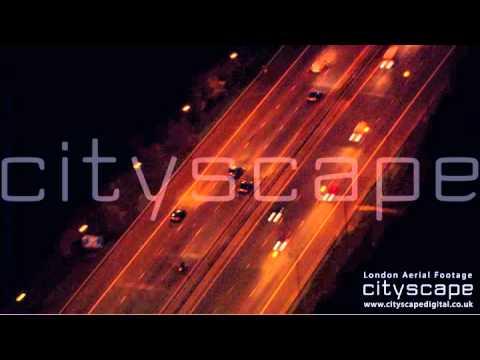 London Aerial Footage - Motorway Traffic (HD)