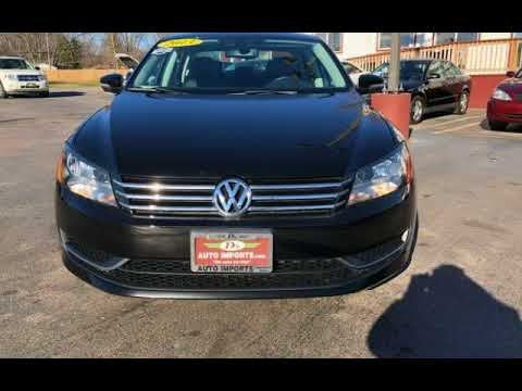 2013 Volkswagen Passat SE for sale in SPRINGFIELD, IL