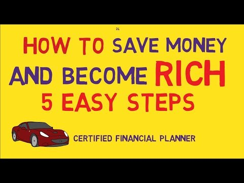 How To Save Money And Become Rich| 5 Simple steps to Get Rich | Financial Plan