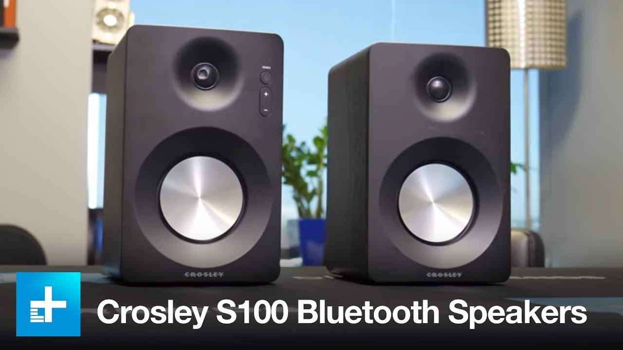 Crosley S100 Bluetooth Bookshelf Speakers