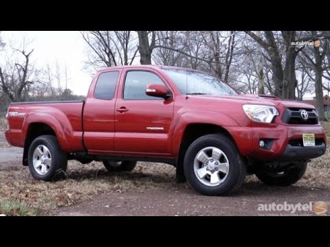 2017 Toyota Tacoma Trd Sport Pickup Truck Test Drive Video Review