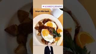 Short Rib Hash from Alexander's Breakfast and Brunch Restaurant